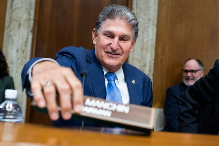 Sen. Joe Manchin (D-W.Va.) included a proposal for a national voter ID law in his compromise for the For The People Act.
