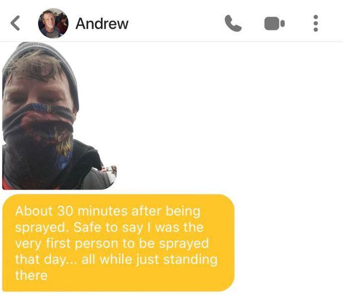 A Bumble user we're calling