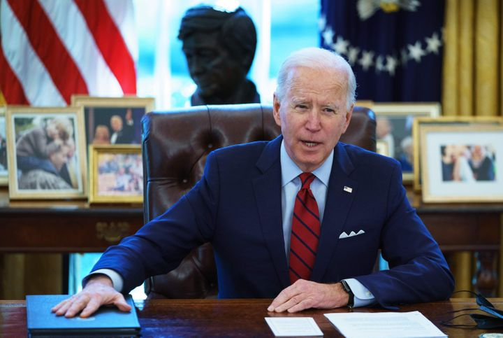 President Joe Biden reversed course and announced his opposition to the Hyde Amendment while on the campaign trail in 2019.