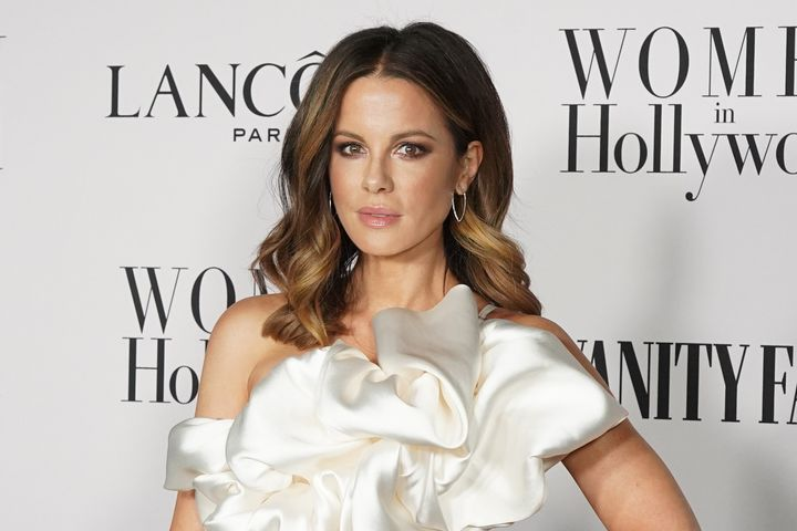 Kate Beckinsale attends the Vanity Fair and Lancôme Women in Hollywood celebration at Soho House on February 6, 2020, i