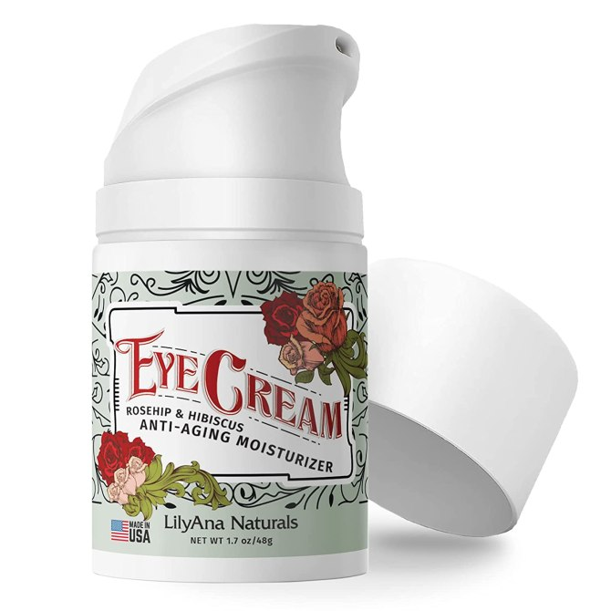 lilyana naturals eye cream This Affordable Eye Cream Is Going Viral On TikTok For Line Smoothing Properties