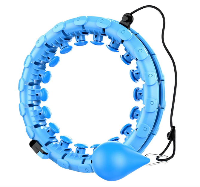 StyleCaster   Weighted Hulu Hoops on Amazon