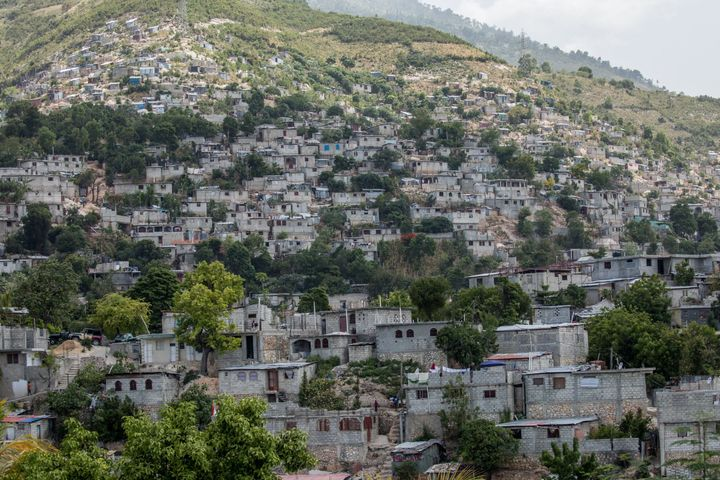 The neighborhood of Canape Vert in Port-au-Prince, seen in the wake of Haitian President Jovenel Moise's assassination this s